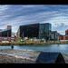 The Albert Dock, Liverpool-motoros napellenző