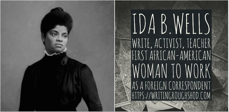 IDA B. WELLS #100travelHERS