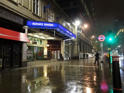 Aldgate Tube Station