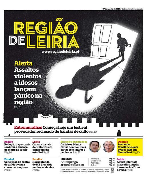Capa Regiao de Leiria edição 4093 de 27 de agosto 2015.jpg