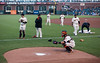 Buster Posey warmup