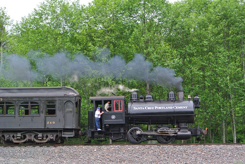 Memorial Day Mini-Tour day 3 - Snoqualmie Steam Engine