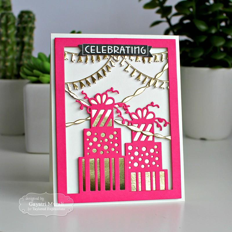 Celebrating card #1