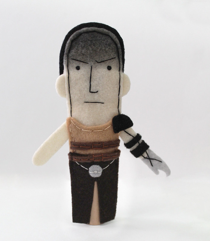 Imperator Furiosa finger puppet by Abbey Hambright