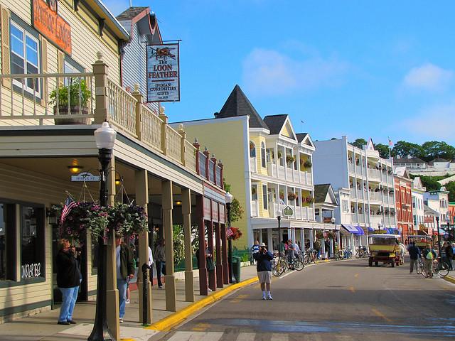 Mackinac Island downtown