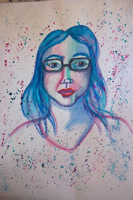 Week 35 - Self Portrait A