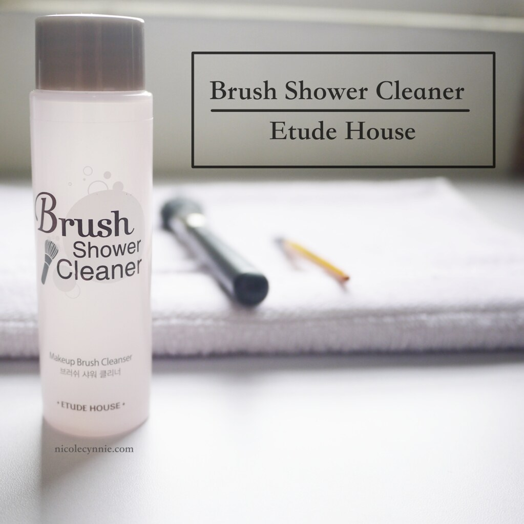 Nicole Cynnie | Etude House Brush Shower Cleaner (Review)