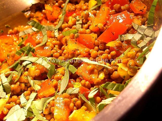 Salade de Lentilles © Ana Luthi Tous droits réservés 002