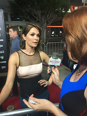Katie Aselton at the Season Premiere Red Carpet for FXX's The League & You're The Worst #TheLeague #YoureTheWorst - IMG_4502