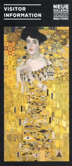 A Dama Dourada, Neue Galerie.