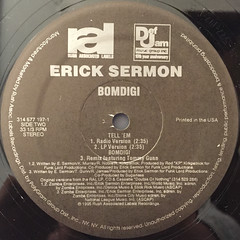 ERICK SERMON:BOMDIGI(LABEL SIDE-B)