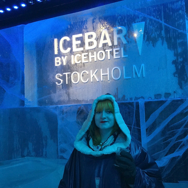 At the Ice Bar Stockholm