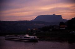 Elbsandsteingebirge (099) Elbtal und Lilienstein