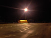 Syrian Refugee Tent in nomans land between Russia and Norway