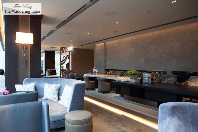 Lounge area of Motif