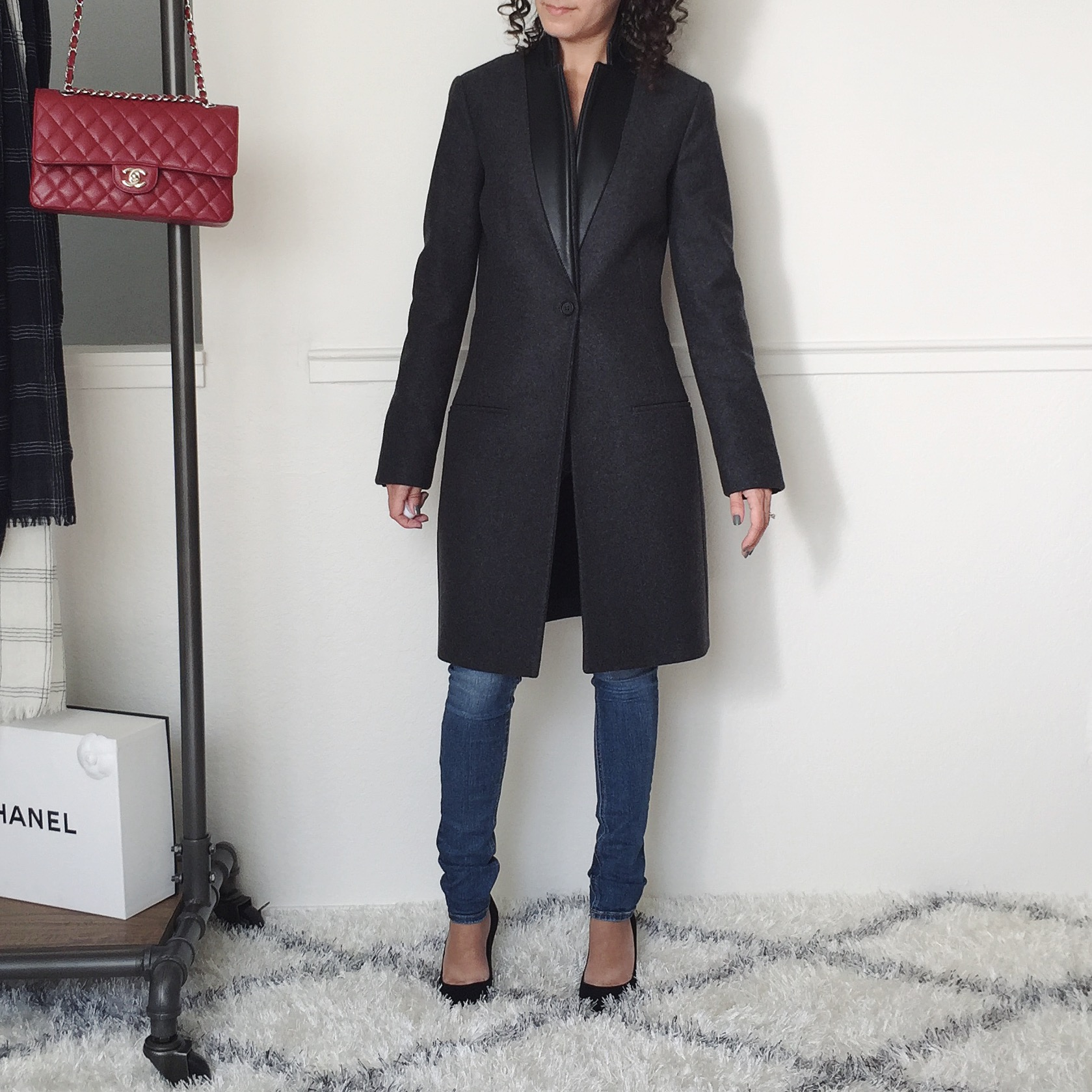 petite all saints coat review