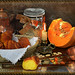 Like a painting: The warm light of Autumn... made with pumpkin and.... by ELISABETTA Thanks you for 2 Millions + Visits