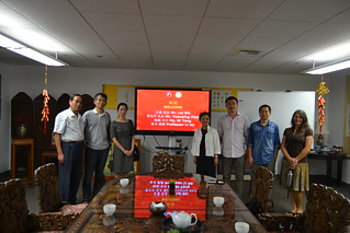 October 13 '15 Fanjingshan National Nature Reserve Meets with CISDSU