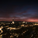 Bern after sunset by Florian Vecsey