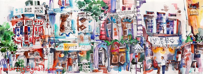 Impressions of Telok Ayer Street