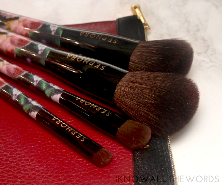 sephora collection gold edged brush set (3)