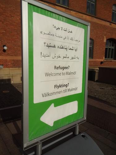 Flyktingar Malmö