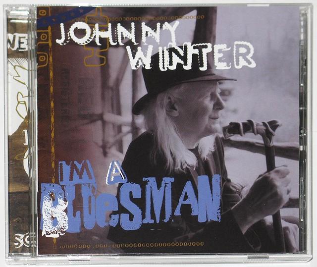 JOHNNY WINTER I'M A BLUESMAN CD JAPAN