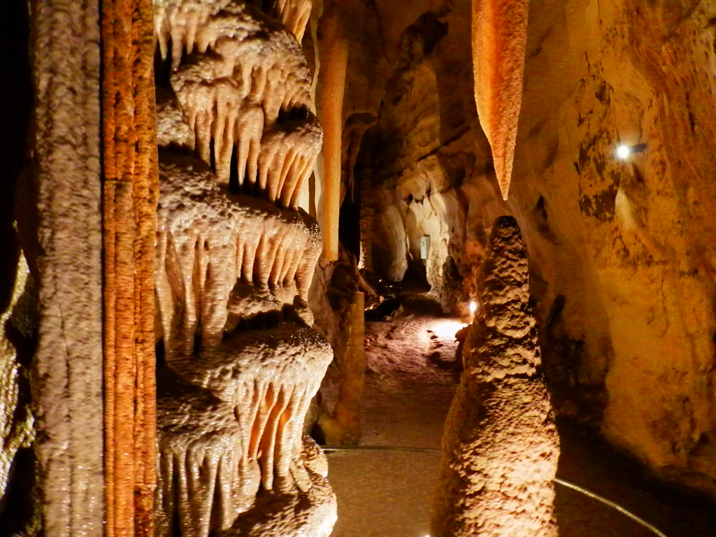 Wedding Cake Formation, Princess Margaret Rose Caves via Nelson, Limestone Coast