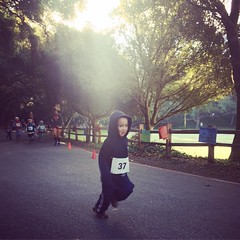 Maiyo's first kiddie running race!