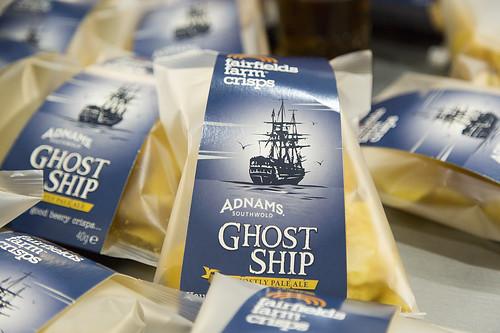 Adnams Ghost Ship Crisps made by Fairfields Farm Crisps