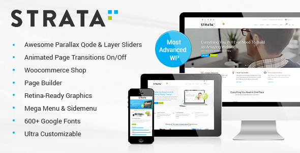 Strata v3.1 – Professional Multi-Purpose WordPress Theme