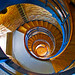 Staircase Lighthouse Flügge - Germany (5466) by Le Photiste