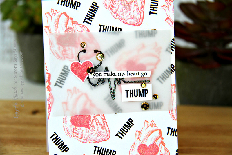 Thump card closeup