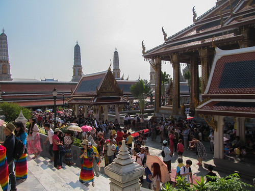 Bangkok: 1h30 plus tard, nous voici dans une foumrillière chinoise