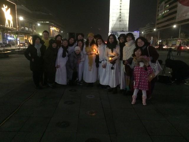 20151128_아카데미느티나무_도시의 노마드 춤서클_세월호 촛불문화제 공연