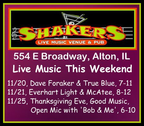 Shakers 11-20-15
