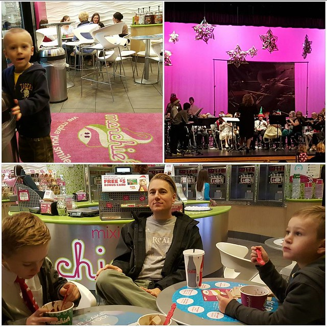 Post band concert advent activity trip to menchies