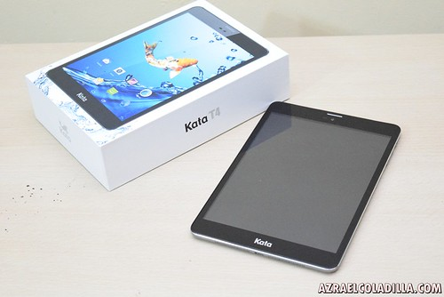 KATA T4 tablet unboxing