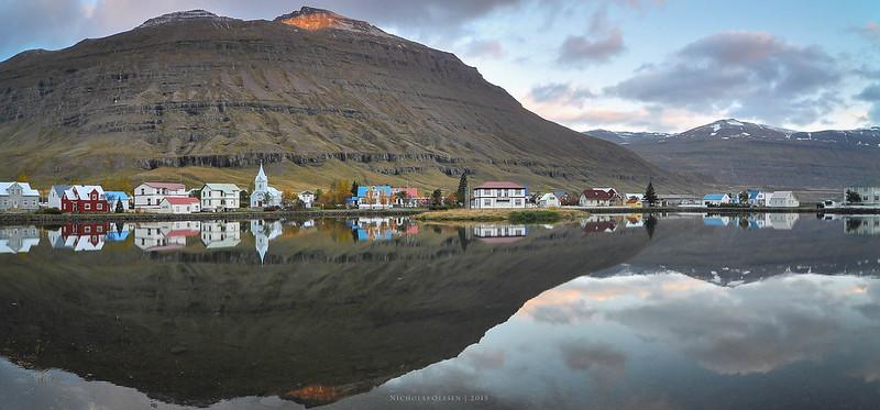 Seyðisfjörður - Morning Panorama