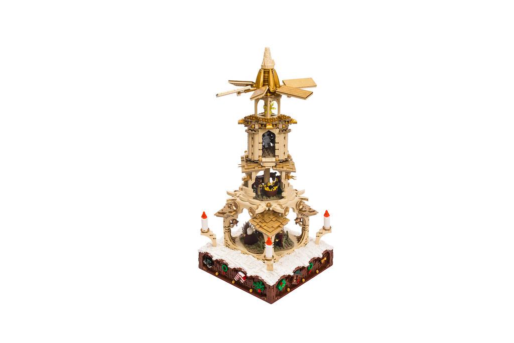 LEGO Ideas │ Weihnachtspyramide 23506866699_ca26282194_b