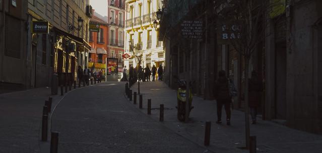 Calle Moratin, barrio de las letras, madrid (2016)