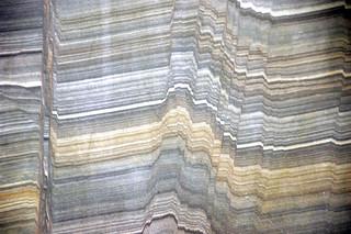 Faulted sandstone (Unkpapa Sandstone, Upper Jurassic; Calico Canyon, Buffalo Gap, South Dakota, USA) 1