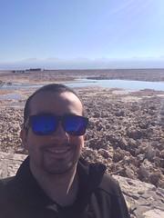 Otra selfie en Chaxa