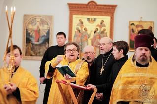 Молебен в Спасском соборе 105