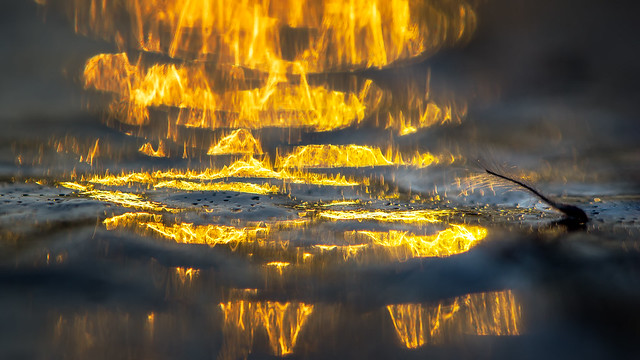 Ice on fire!