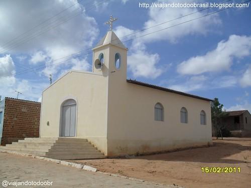 Poço das Trincheiras - Igreja no povoado Alto Tamanduá