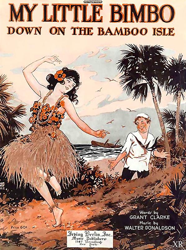 ...bimbo on bamboo isle!
