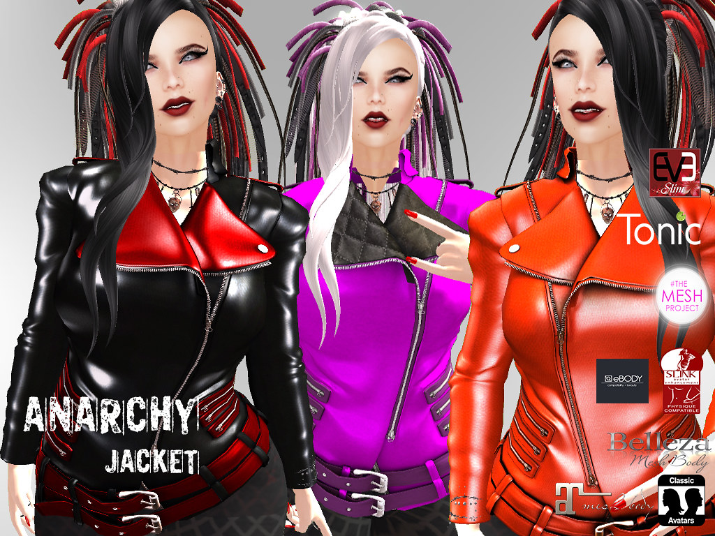 Anarchy Jacket - SecondLifeHub.com