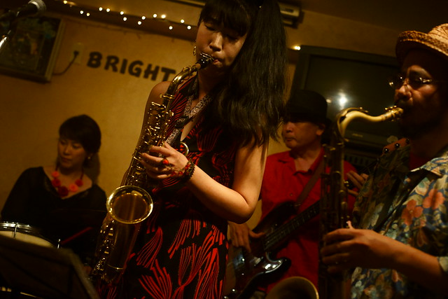 Blues live at Bright Brown, Tokyo, 16 Aug 2015. 004