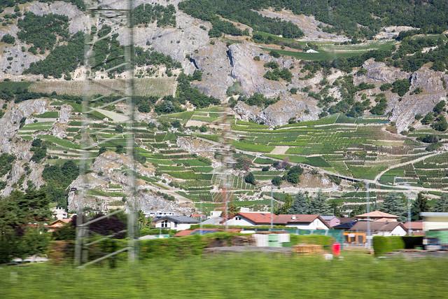Montreux to Milan by EuroCity ETR610